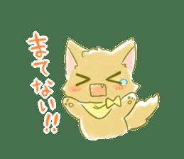 Little Red Hood of the cat ear sticker #7728174