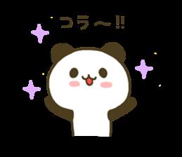jyare panda 4 sticker #7740910