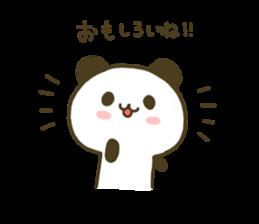 jyare panda 4 sticker #7740914