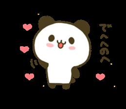 jyare panda 4 sticker #7740921
