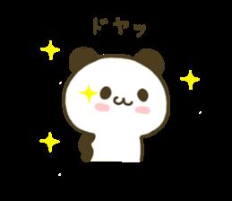 jyare panda 4 sticker #7740926