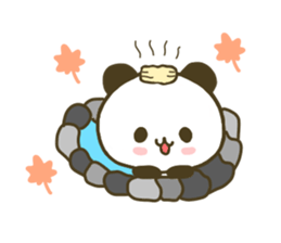 jyare panda 4 sticker #7740943