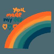 สติ๊กเกอร์ไลน์ You are my line my love
