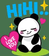 CULIPA - Cute Little Panda sticker #7758165