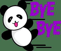 CULIPA - Cute Little Panda sticker #7758167
