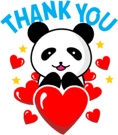 CULIPA - Cute Little Panda sticker #7758168