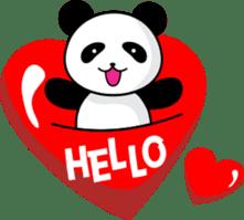 CULIPA - Cute Little Panda sticker #7758178