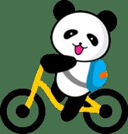 CULIPA - Cute Little Panda sticker #7758189