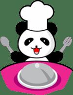 CULIPA - Cute Little Panda sticker #7758196