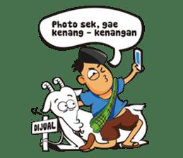 Somat in idul adha sticker #7761612