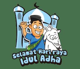 Somat in idul adha sticker #7761624