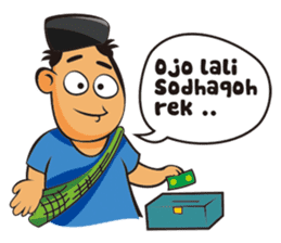 Somat in idul adha sticker #7761642