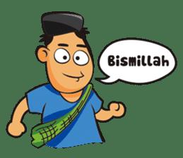 Somat in idul adha sticker #7761644