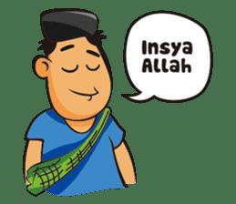 Somat in idul adha sticker #7761649