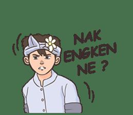 Nak Bali Ne sticker #7771436