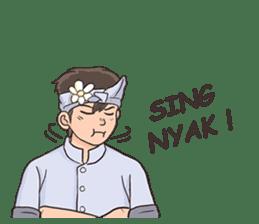 Nak Bali Ne sticker #7771441