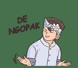 Nak Bali Ne sticker #7771454