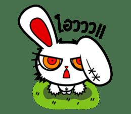 ayupan x Bloody Bunny sticker #7780154
