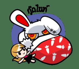 ayupan x Bloody Bunny sticker #7780175