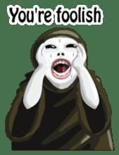 Kurodukin 3 English version sticker #7793432