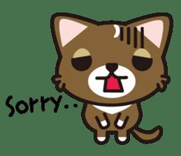 cuteChihuahua with daily conversations E sticker #7795141