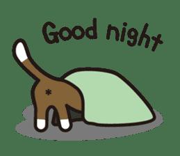 cuteChihuahua with daily conversations E sticker #7795146