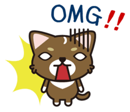 cuteChihuahua with daily conversations E sticker #7795147