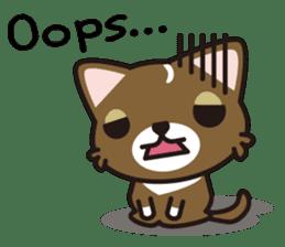 cuteChihuahua with daily conversations E sticker #7795162