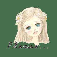 Between Girl's Calmness & Passion sticker #7801577