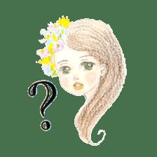 Between Girl's Calmness & Passion sticker #7801578