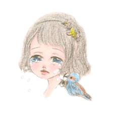 Between Girl's Calmness & Passion sticker #7801593