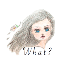 Between Girl's Calmness & Passion sticker #7801595