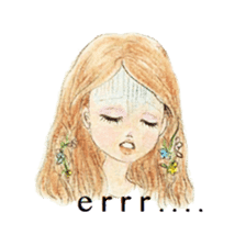 Between Girl's Calmness & Passion sticker #7801607