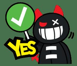 Devil Za sticker #7802372
