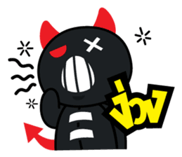 Devil Za sticker #7802380