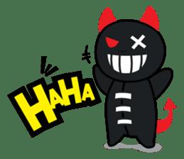 Devil Za sticker #7802385