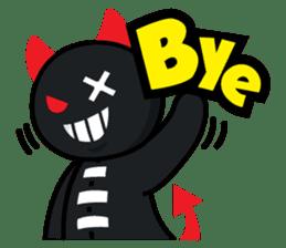 Devil Za sticker #7802399