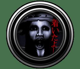 Fancy Island horror sticker 2 sticker #7807682