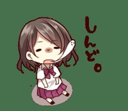 kansai dialect girl sticker sticker #7811785