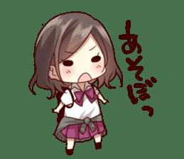 kansai dialect girl sticker sticker #7811796