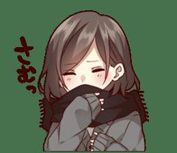 kansai dialect girl sticker sticker #7811797
