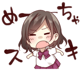 kansai dialect girl sticker sticker #7811810