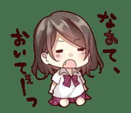 kansai dialect girl sticker sticker #7811811