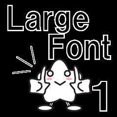 Enjoy the English Large Font