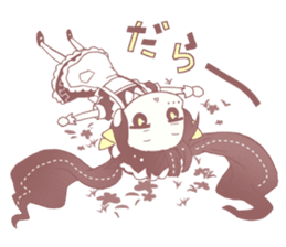YURUTTO monsters sticker #7834504