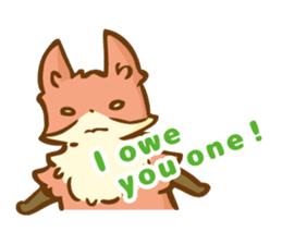 The story of Fox 1-4 (thanks) [Eng] sticker #7835309