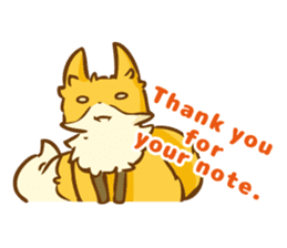 The story of Fox 1-4 (thanks) [Eng] sticker #7835311