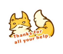 The story of Fox 1-4 (thanks) [Eng] sticker #7835316