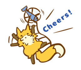 The story of Fox 1-4 (thanks) [Eng] sticker #7835319