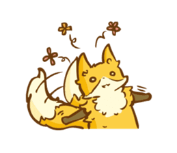 The story of Fox 1-4 (thanks) [Eng] sticker #7835330